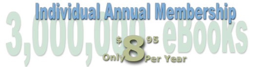 Individual Annual Membership is only $8.95  per year