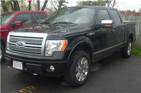 2009 Ford F-150.