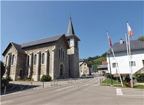 The church in Bassens