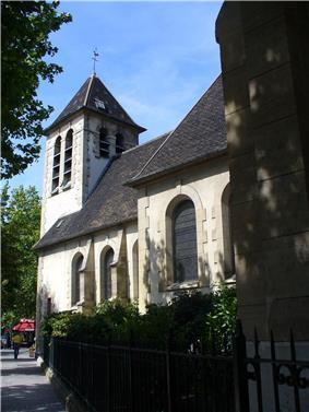 The church of Saint-Vincent-de-Paul, in Clichy