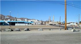 The Mosaic Company chemical plant dominates Trona