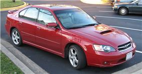 2005 Subaru Legacy 2.5GT.