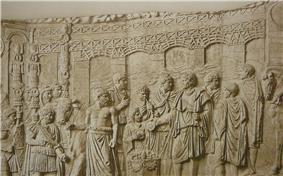 Relief on Trajan's Column