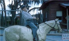 07 Man on horse 6 Gun Territory.JPG