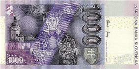 1000 korún reverse