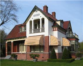 Monumental villa in Haren