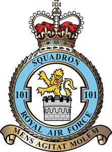 101 Squadron badge