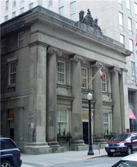 Exterior view of the Toronto Street Post Office