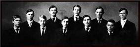 Photo of the original 10 Seal and Serpent Brothers.
