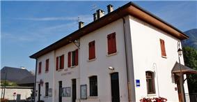 The town hall in Betton-Bettonnet