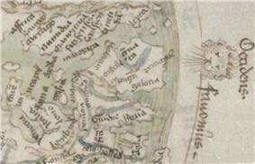 Sallust de Geneve´s map