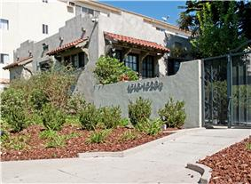 Bungalow Court at 1516 N. Serrano Avenue