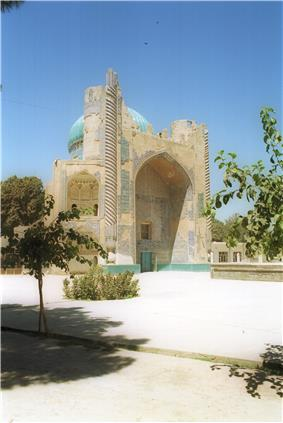 Ruins of the Masjid Sabz (the