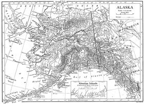 Location of Alaska Territory