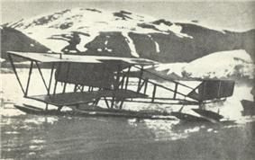 Nagurski's plane in the Arctic