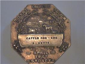 Royal Easter Show Medal