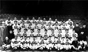 Official portrait of the 1948 Cleveland Browns team