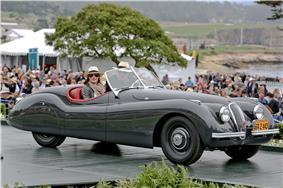 Clark Gable's 1949 Jaguar XK120 Roadster.