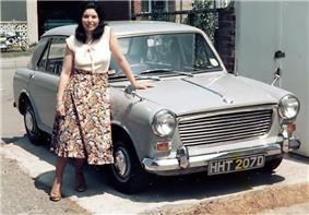 1966 Morris 1100.