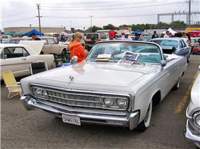 1966 Imperial Crown convertible.