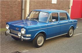 1973 Simca 1000 GL.