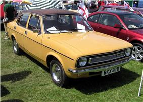 1976 Morris Marina at Bristol Car Show.