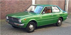 A 1976 Toyota Corolla.
