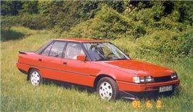 1985 Mitsubishi Galant 2.0L turbo.