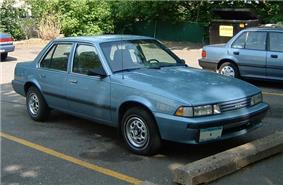1988 Chevrolet Cavalier.