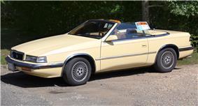 1989 Chrysler TC by Maserati.