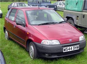 1994 Fiat Punto.