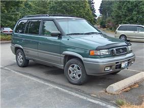 1997 Mazda MPV All-Sport 4WD minivan.