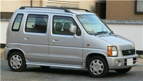 1998 Suzuki WagonR-Wide.