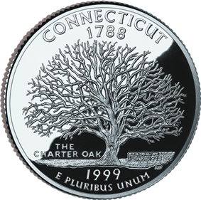 Quarter of Connecticut