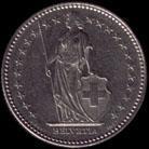 1 Swiss franc 1983 obverse