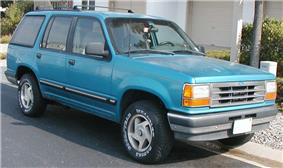 First generation Ford Explorer.