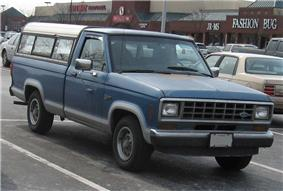First generation Ford Ranger.