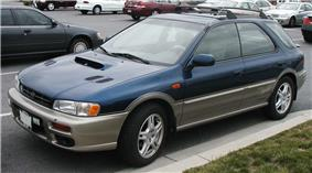 A 2001 Subaru Outback Sport