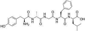 Chemical structure of DADLE.