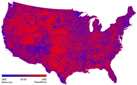 2004 US elections purple counties.png