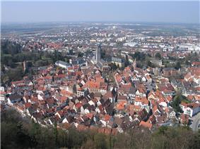 Panorama of Weinheim