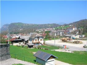 A general view of La Bridoire