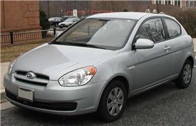 2010 Hyundai Accent.