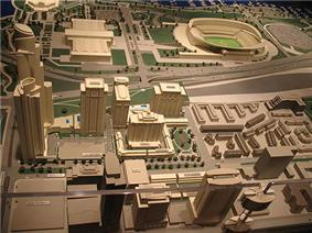 One Museum Park & One Museum Park West and the northern part of the Central Station sales model