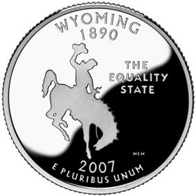 Quarter of Wyoming