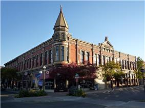 Historic Davidson Building, completed in 1890