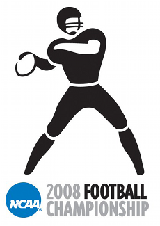 Logo for the 2008 NCAA Division II National Championship game