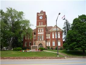 Dickinson County Courthouse and Jail