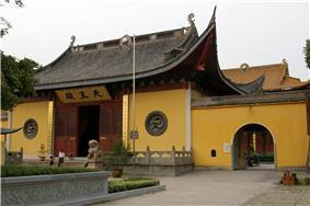 Fuyan Temple in Tongfu Township, Tongxiang City