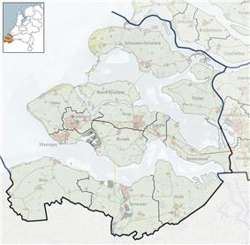 Arnemuiden is located in Zeeland
